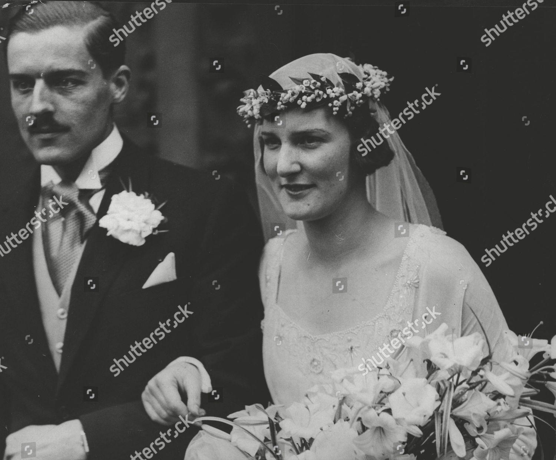 Lindsay Ellis Wedding.Wedding Hon James Lindsay Youngest Son 27th Editorial Stock Photo