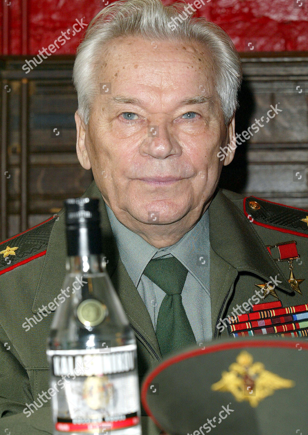 LIEUTENANT GENERAL MIKHAIL KALASHNIKOV Editorial Stock Photo