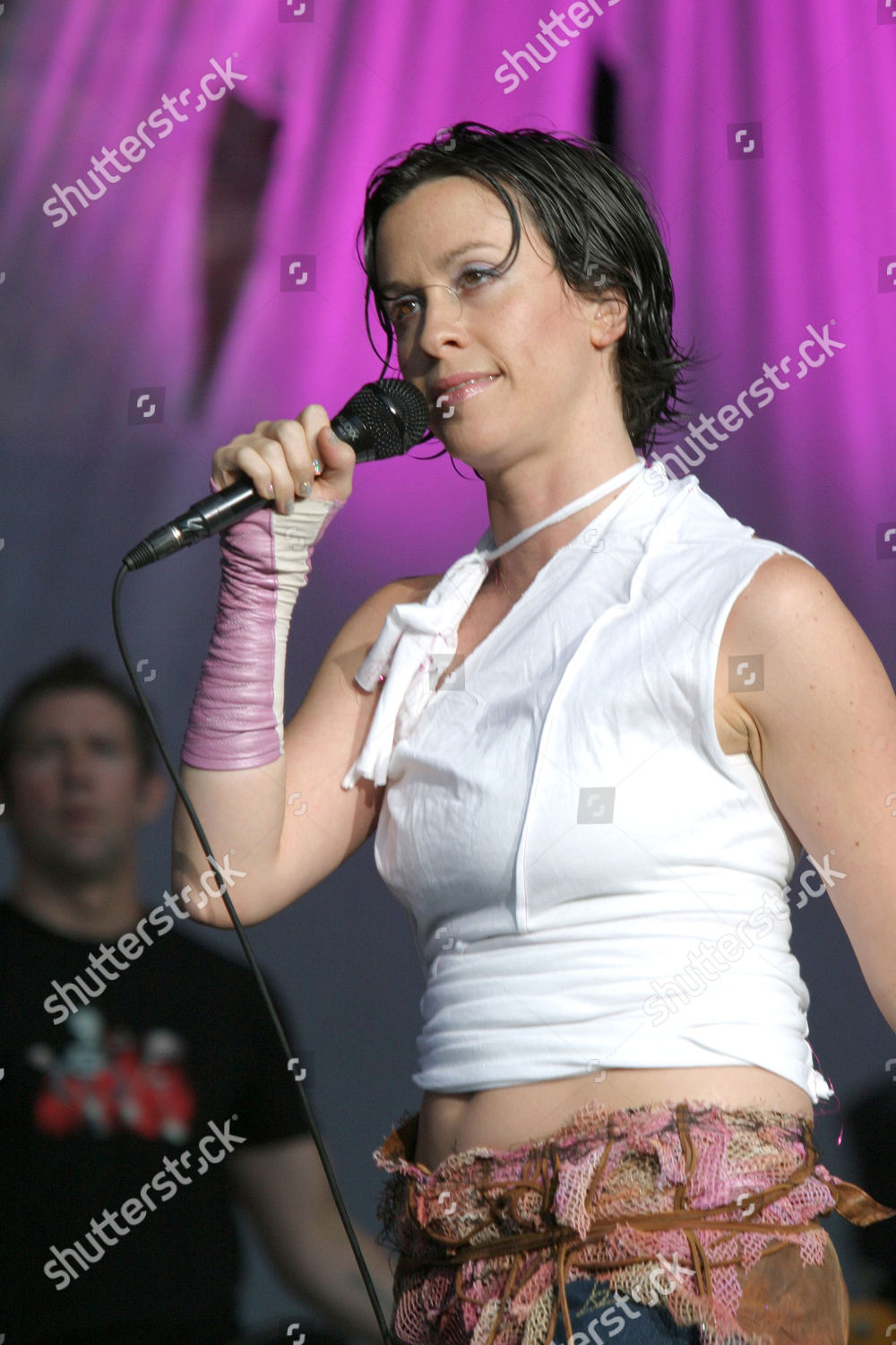 Alanis Morissette Editorial Stock Photo - Stock Image