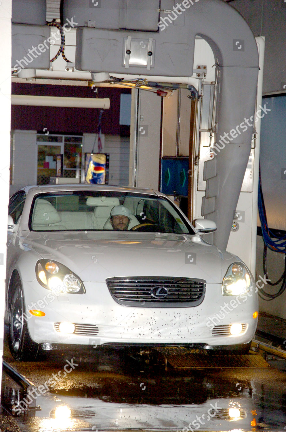 Kevin Federline Carwash Editorial Stock Photo Image Lexus Car Wash Taking The Convertible Sports Of His Wife Britney Spears To
