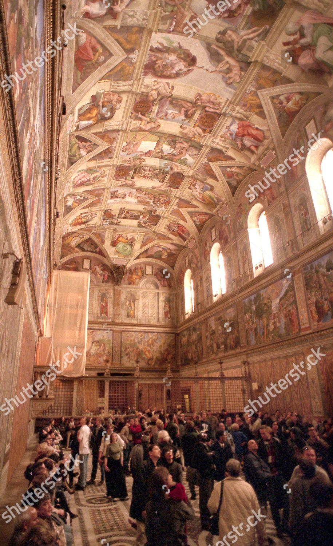 Sistine Chapel Ceiling By Michelangelo Vatican Built