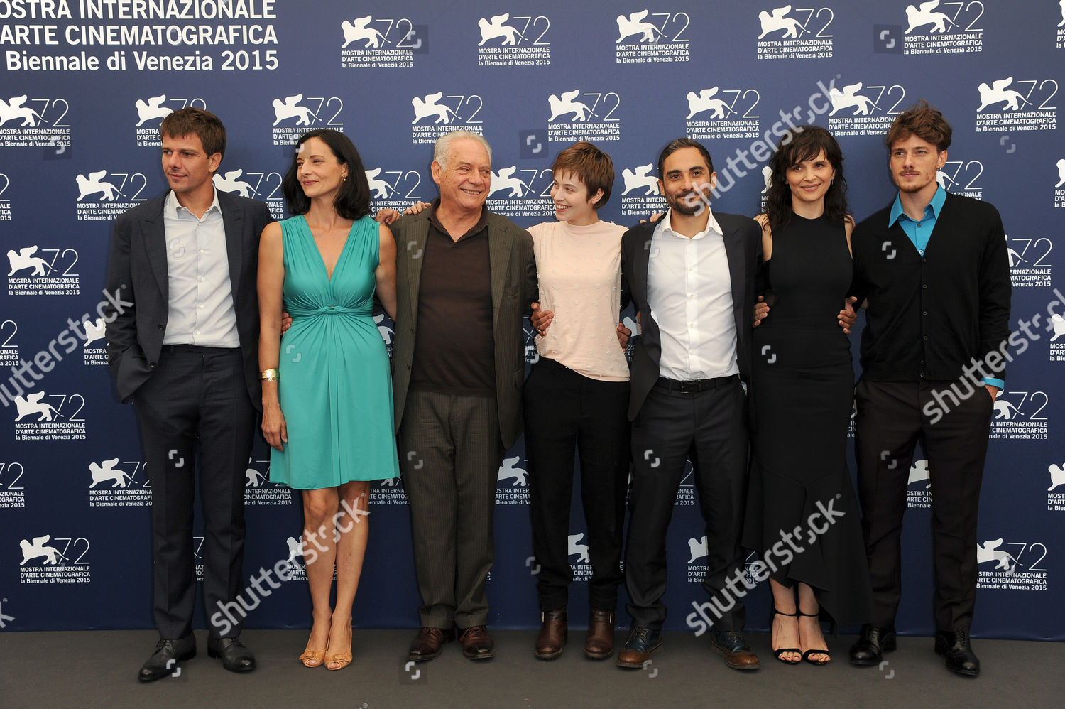 ec7b897a2 'The Wait' photocall, 72nd Venice Film Festival, Italy Stock Image by  Alberto Terenghi for editorial use, Sep 5, 2015