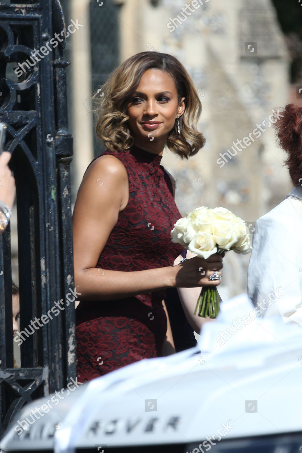 d037a47b936 Alesha Dixon is maid of honour at her best friend s wedding