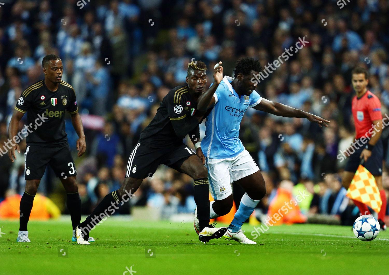 Wilfried Bony Manchester City Paul Pogba Juventus Editorial Stock Photo Stock Image Shutterstock