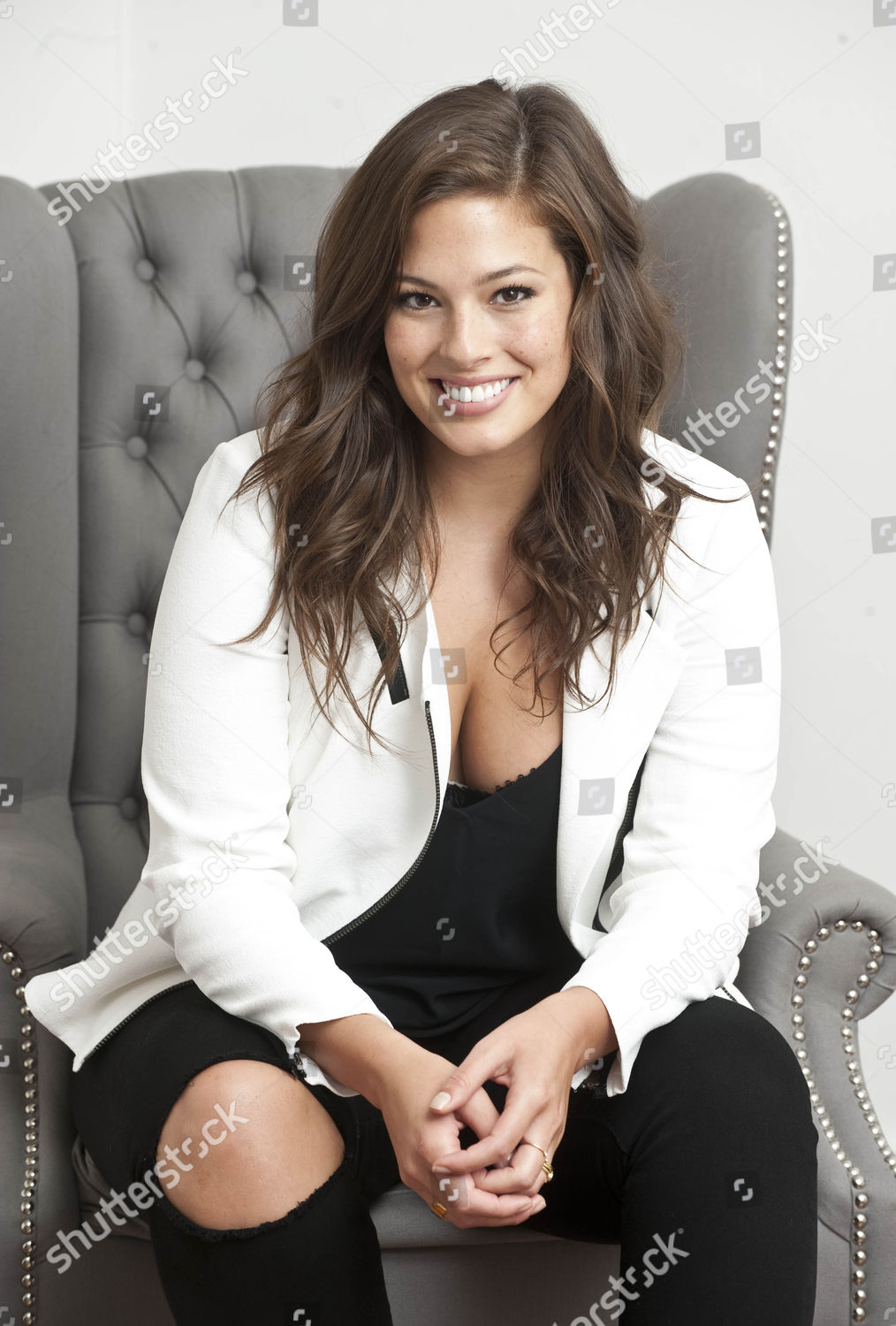 7c6733d0dc3 Ashley Graham Who Is An American Plus Size Model Designing A Lingerie Line  With Bras Ranging