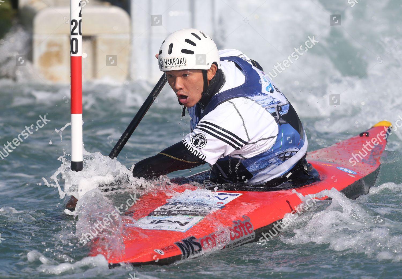 Japens Japens Shota SASAKI Canoe Single C1 Editorial Stock