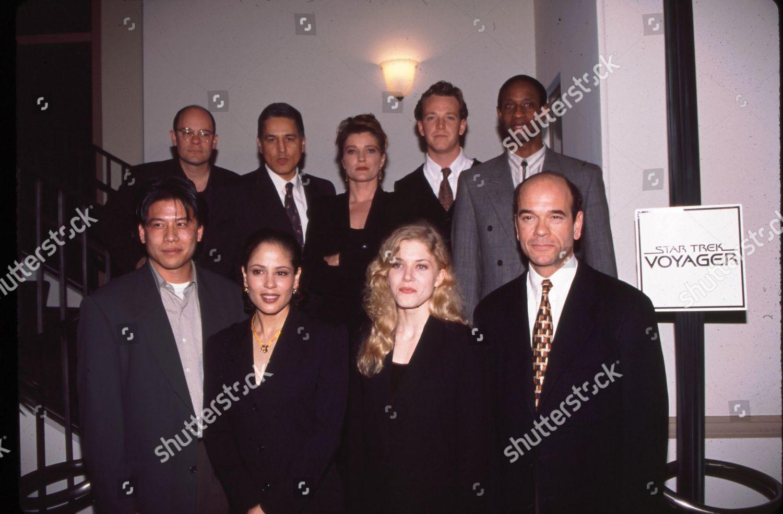 Star Trek Voyager Cast Editorial Stock Photo - Stock Image