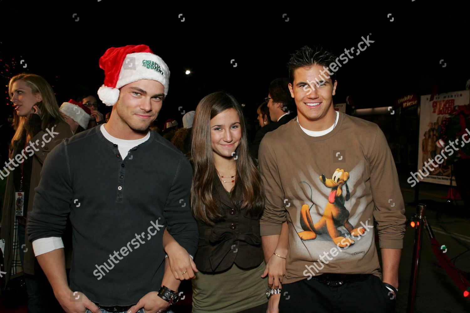 Robbie Amell Melanie Tonello Shawn Roberts Editorial Stock Photo Stock Image Shutterstock