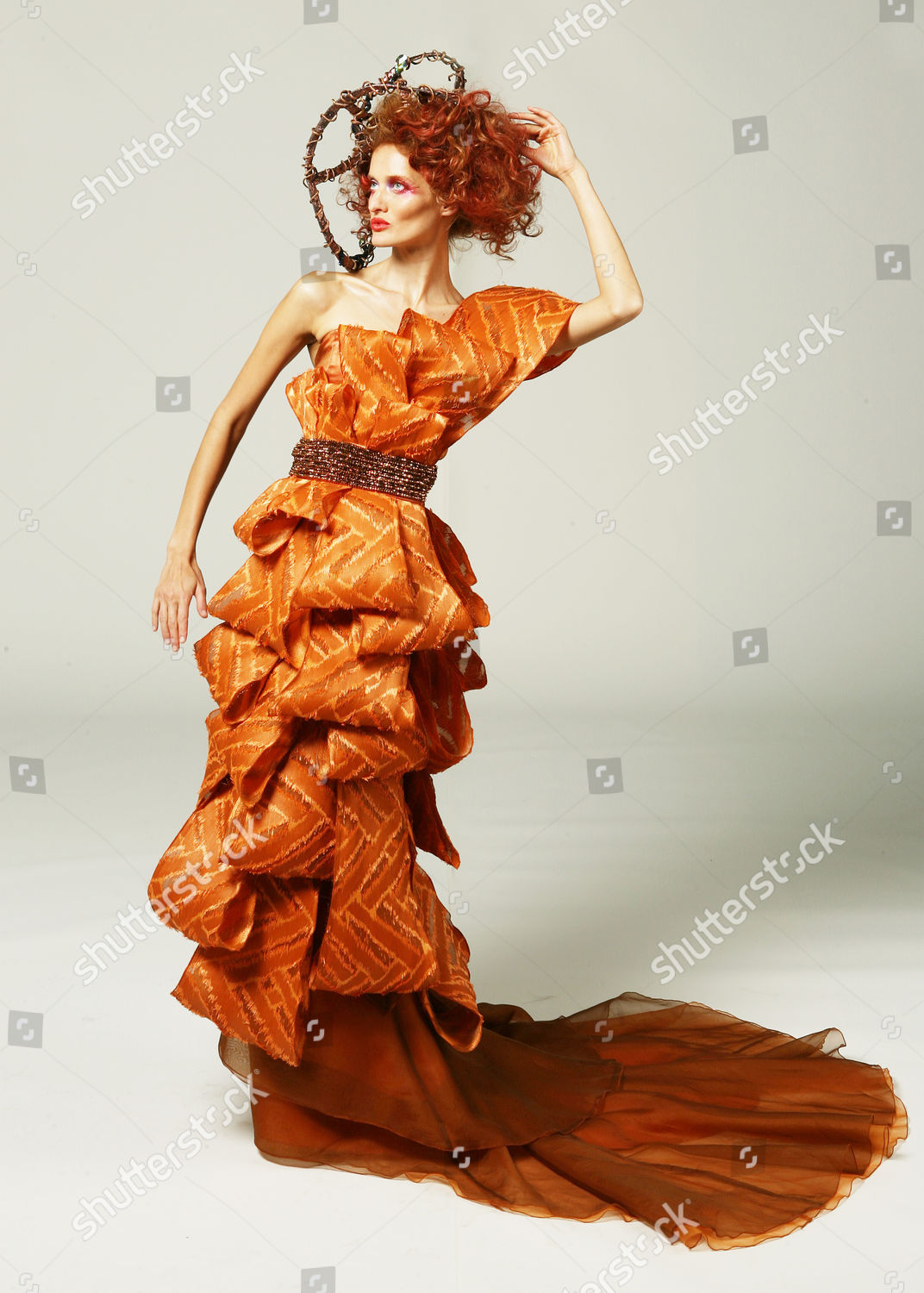 By Fidm Fashion Designer Angela Avanesyan Couture Editorial Stock Photo Stock Image Shutterstock