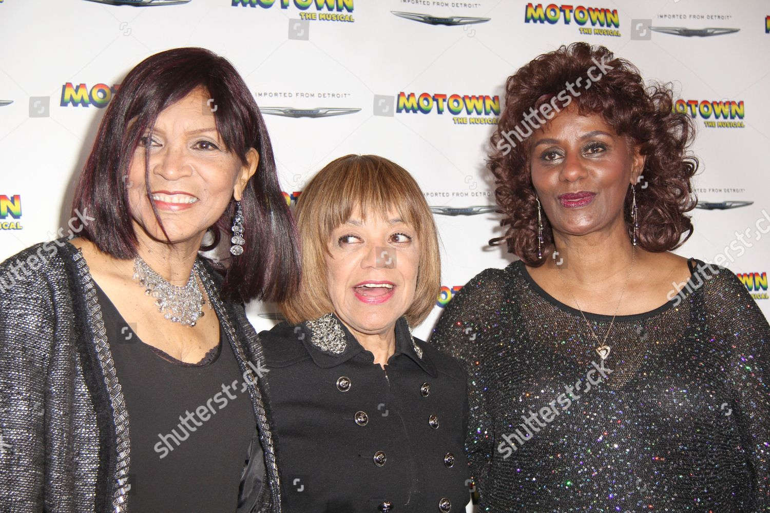 Stock photo of Motown Family Night at Motown: the Musical, New York, America - 05 Apr 2013