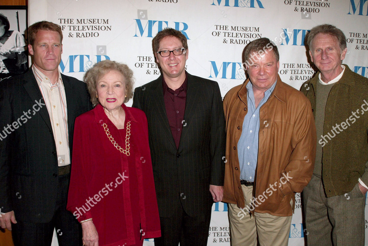 Stock photo of 'BOSTON LEGAL' AT THE 22ND ANNUAL WILLIAM S PALEY FESTIVAL, LOS ANGELES, AMERICA - 15 MAR 2005