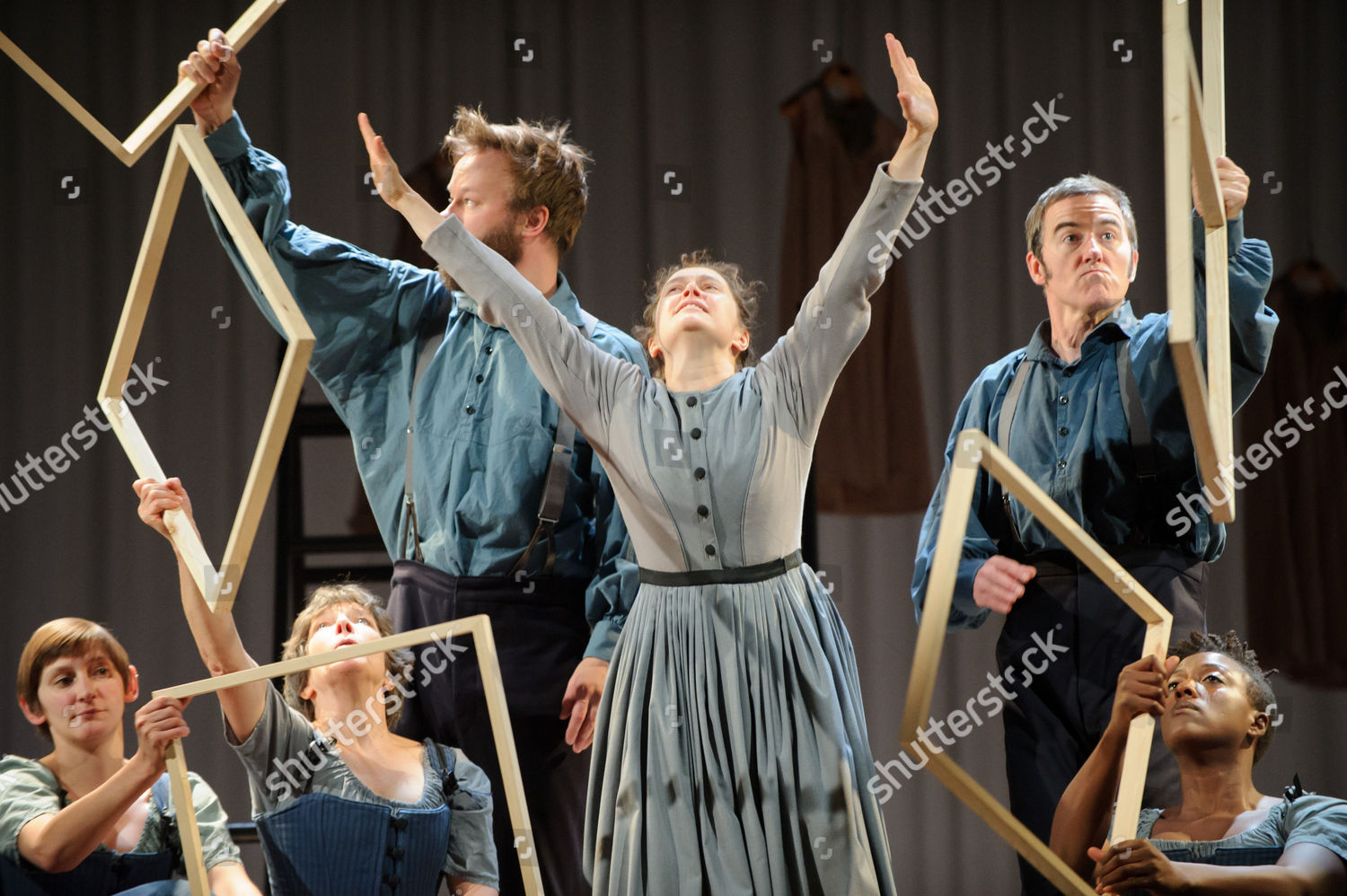 Madeleine Worrall Jane Eyre company Editorial Stock Photo - Stock