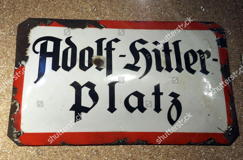 Miraculous Adolf Hitler Platz Sign Museum Military History Editorial Stock Funny Birthday Cards Online Inifofree Goldxyz