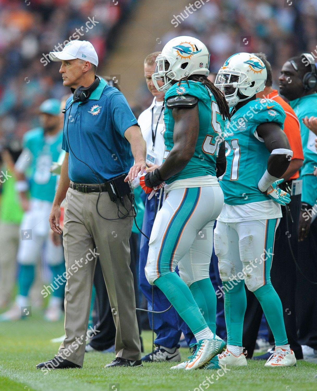 Miami Dolphins head coach Joe Philbin during Editorial Stock