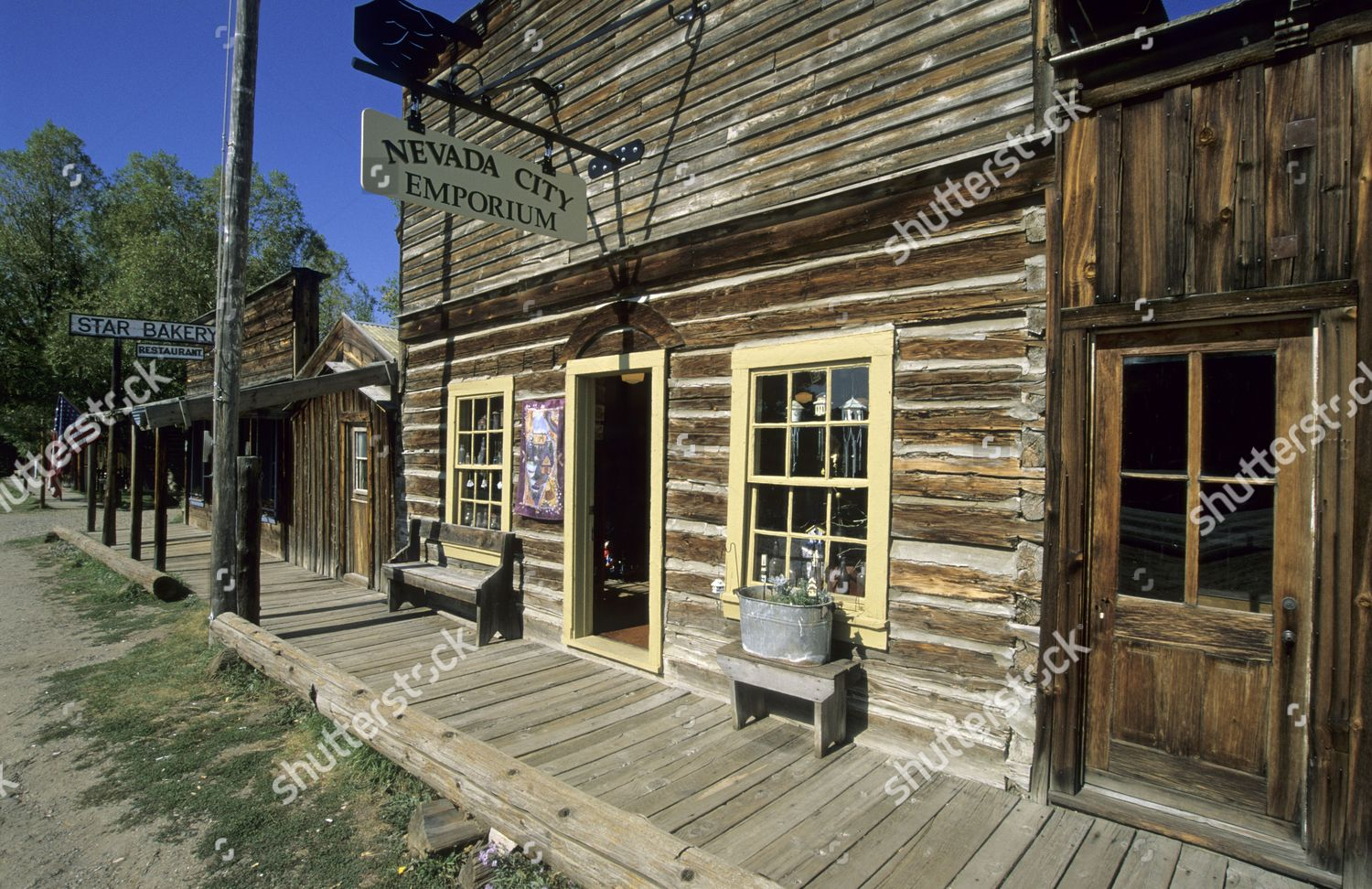 Historic Building Shop Nevada City Montana Usa Editorial Stock Photo Stock Image Shutterstock