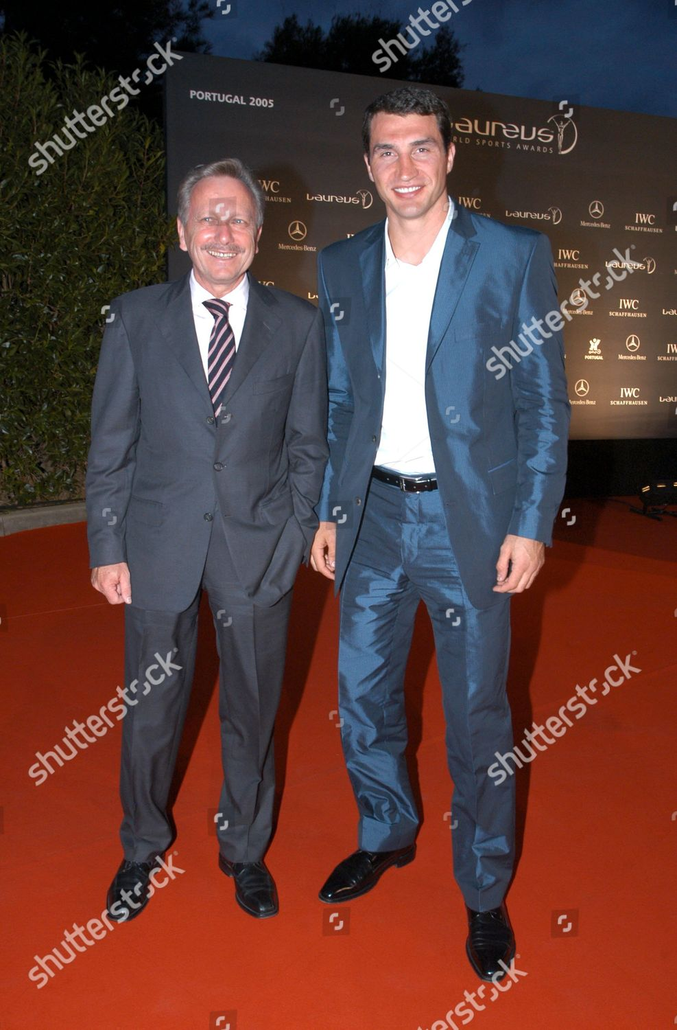 Stock photo of THE LAUREUS WORLD SPORTS AWARDS VOGUE PARTY, FAROL DESIGN HOTEL, CASAIS, PORTUGAL -  15 MAY 2005