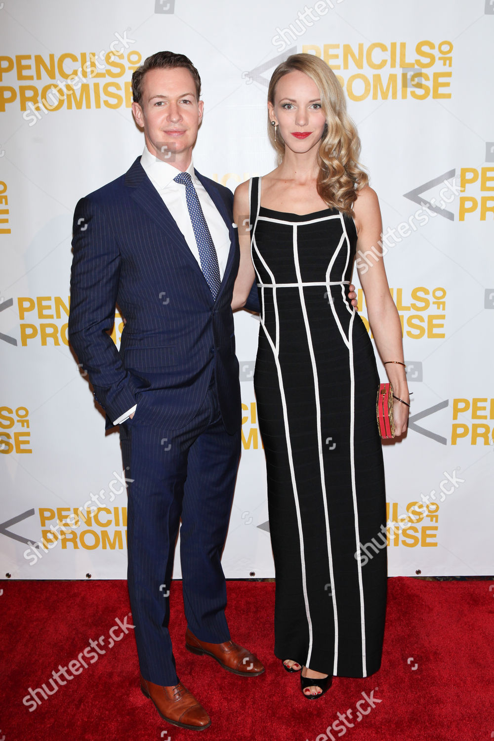Stock photo of Pencils Of Promise Gala, New York, America - 21 Oct 2015