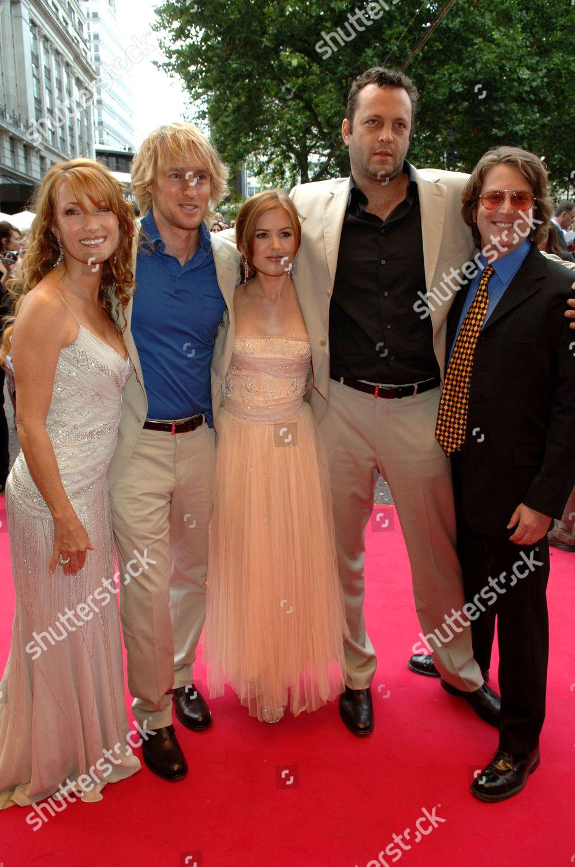 Jane Seymour Wedding Crashers.Jane Seymour Owen Wilson Isla Fisher Vince Editorial Stock Photo