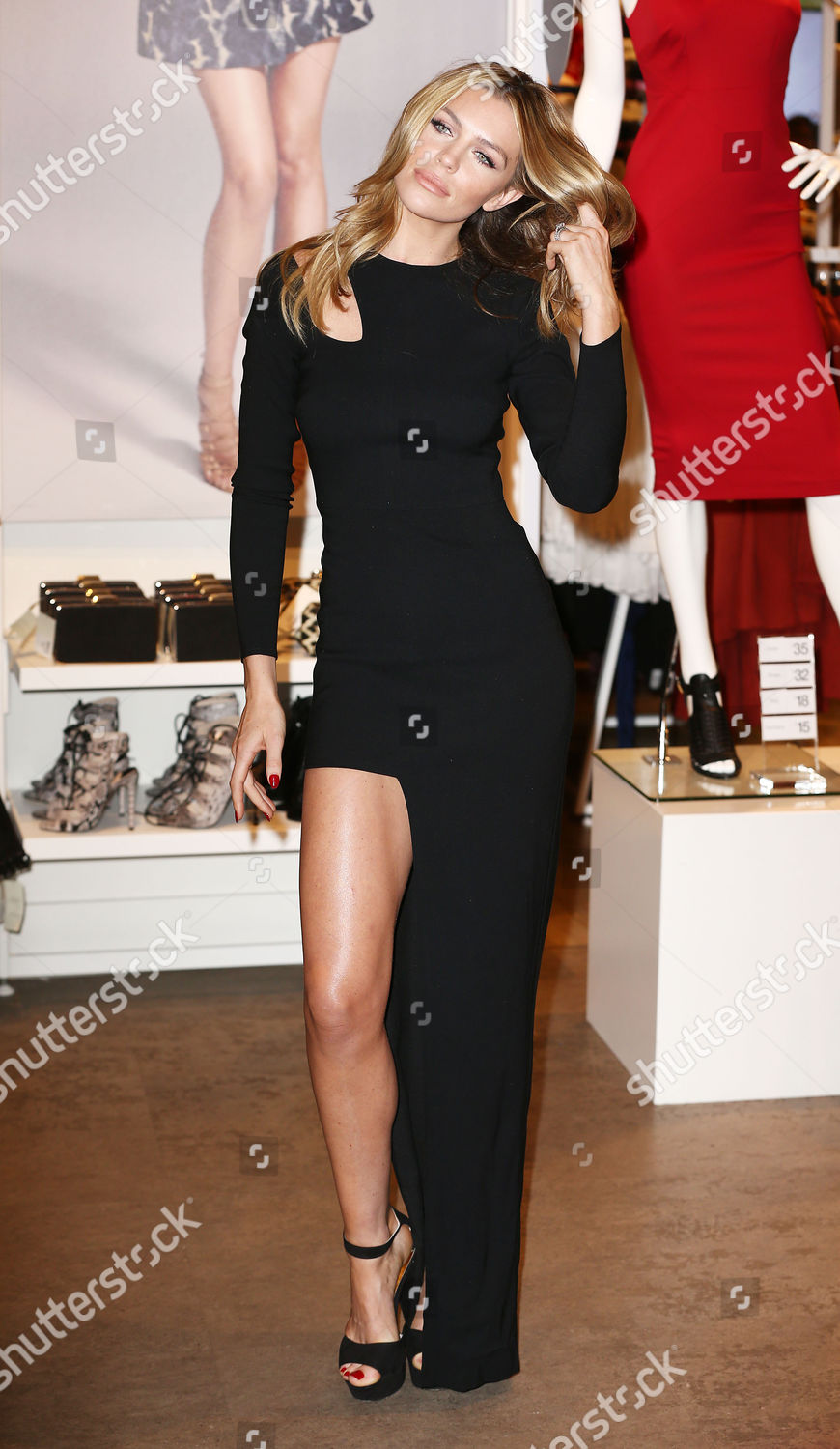 new styles big discount presenting Abigail Clancy Editorial Stock Photo - Stock Image   Shutterstock