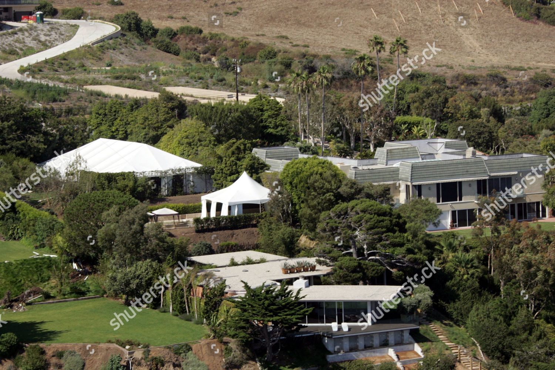 Brad Pitts House Malibu Where Angelina Jolie Editorial Stock Photo Stock Image Shutterstock