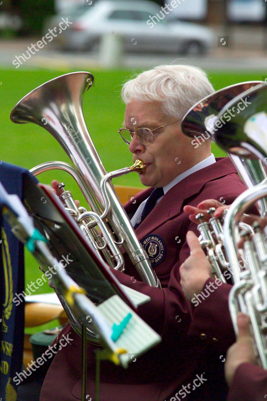 Editorial Stock Photo Of Salvation Army Bandsman Stratford Upon Avon