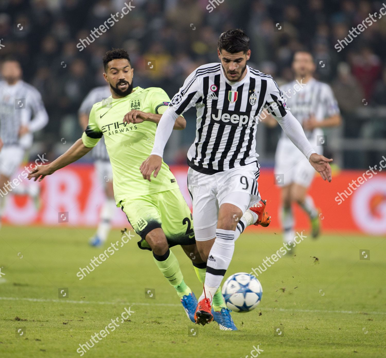 Gael Clichy Manc Alvaro Morata Juventus Foto Editorial En Stock Imagen En Stock Shutterstock