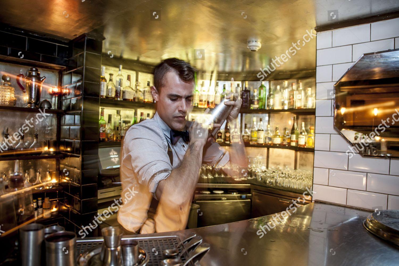 Harmony Royale cocktail Milk Honey Cocktail bar Editorial Stock ...