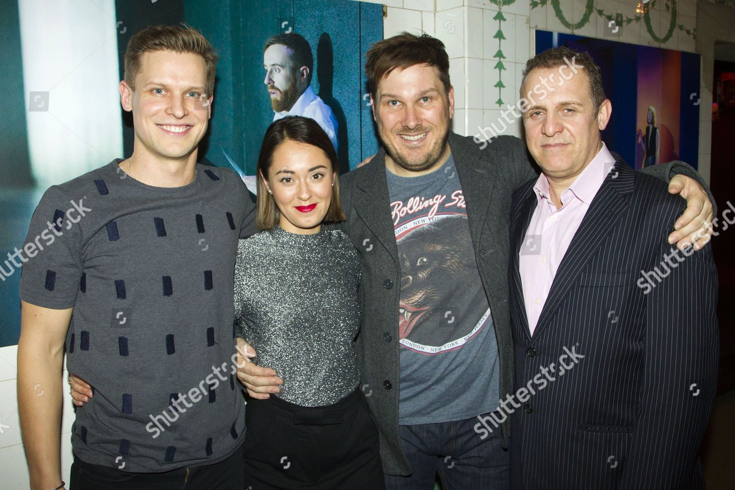 Stock photo of 'Bull' play, After Party, London, Britain - 15 Dec 2015