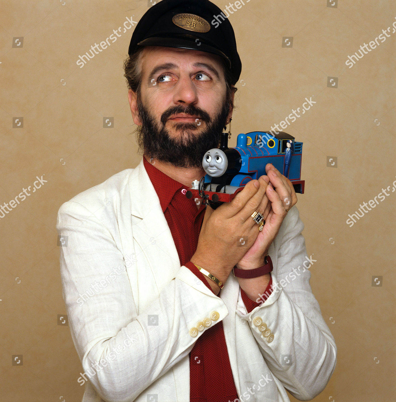Narrator Ringo Starr Thomas Tank Engine Editorial Stock