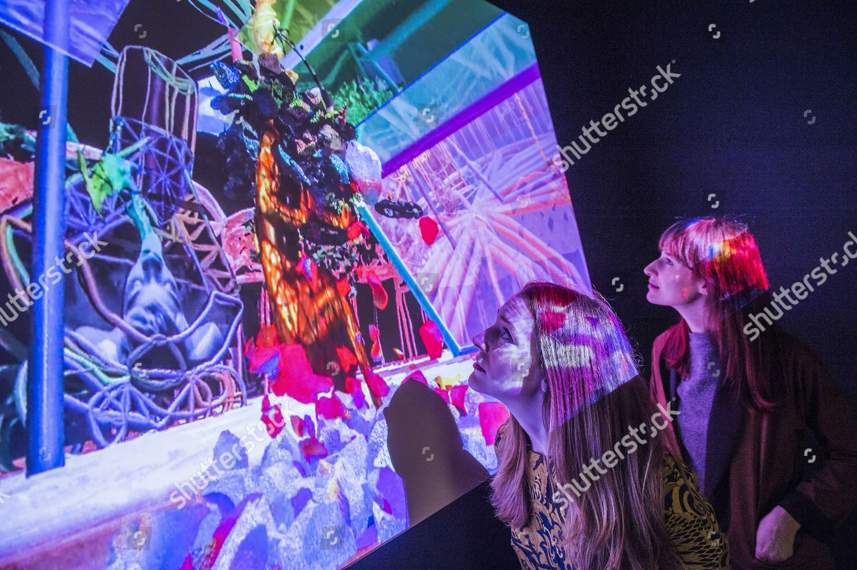 Stock photo of Electronic Superhighway exhibition, Whitechapel Gallery, London, Britain - 28 Jan 2016