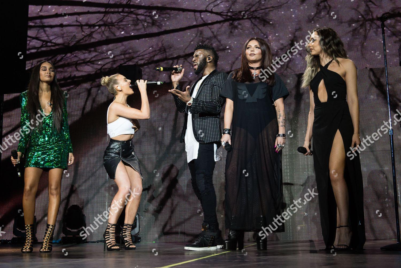 Jason Derulo special guests Little Mix Jason Editorial Stock