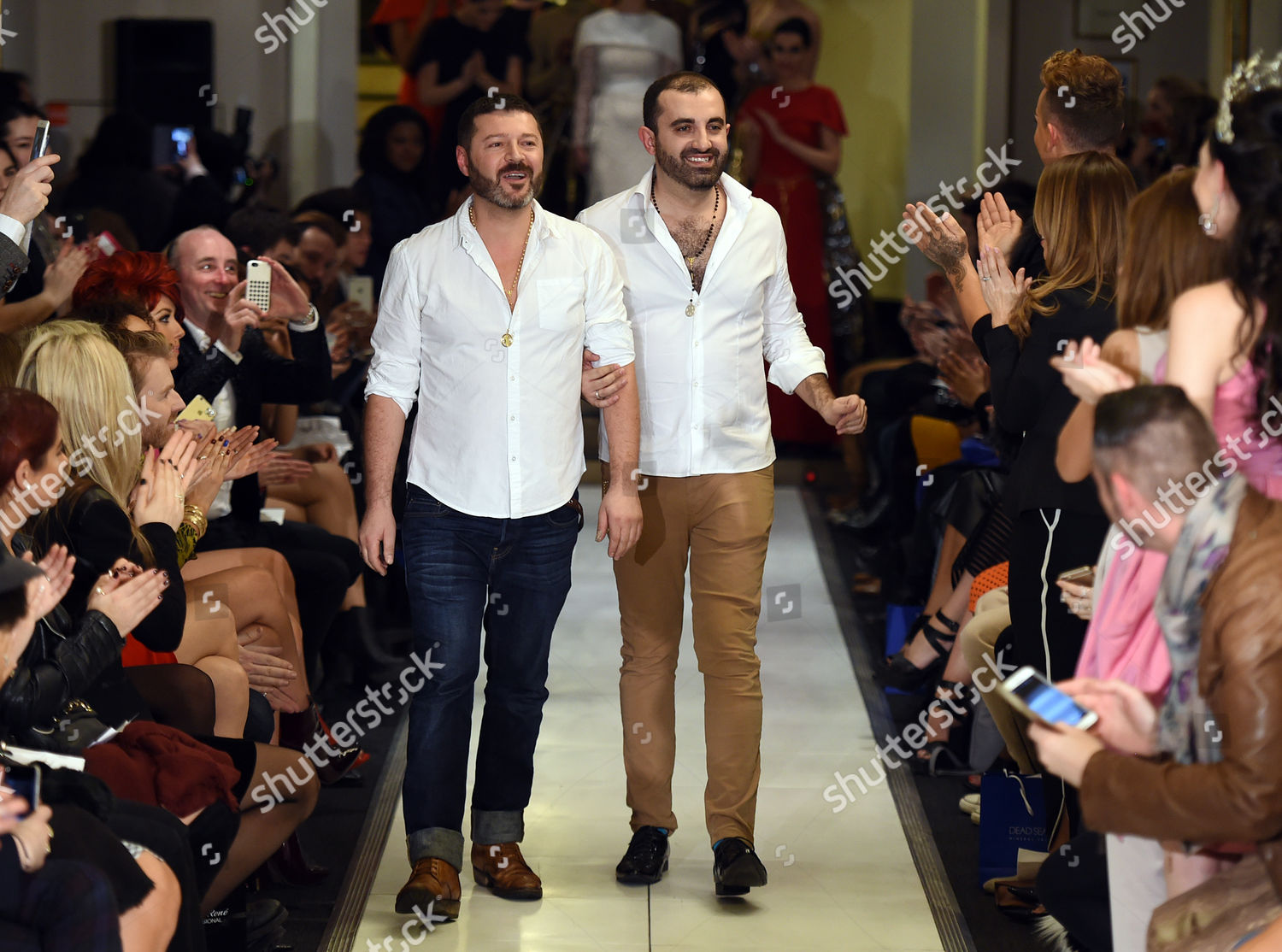 Kolchagov Barba Designers On Catwalk Editorial Stock Photo Stock Image Shutterstock