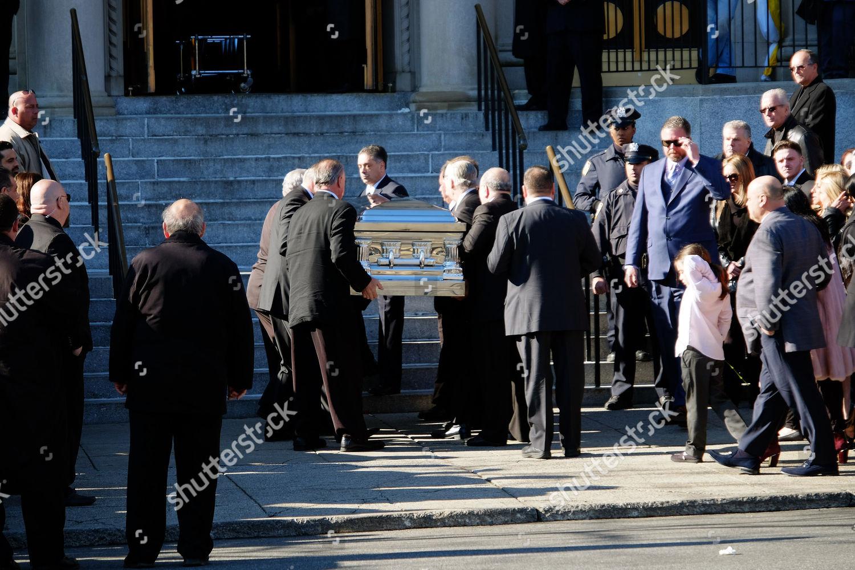 Stock photo of Funeral of Angela Raiola aka Big Ang, New York, America - 22 Feb 2016
