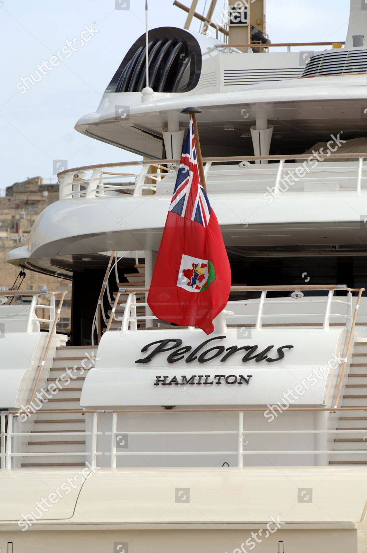 Roman Abramovichs Private Yacht Pelorus Grand Harbour Editorial
