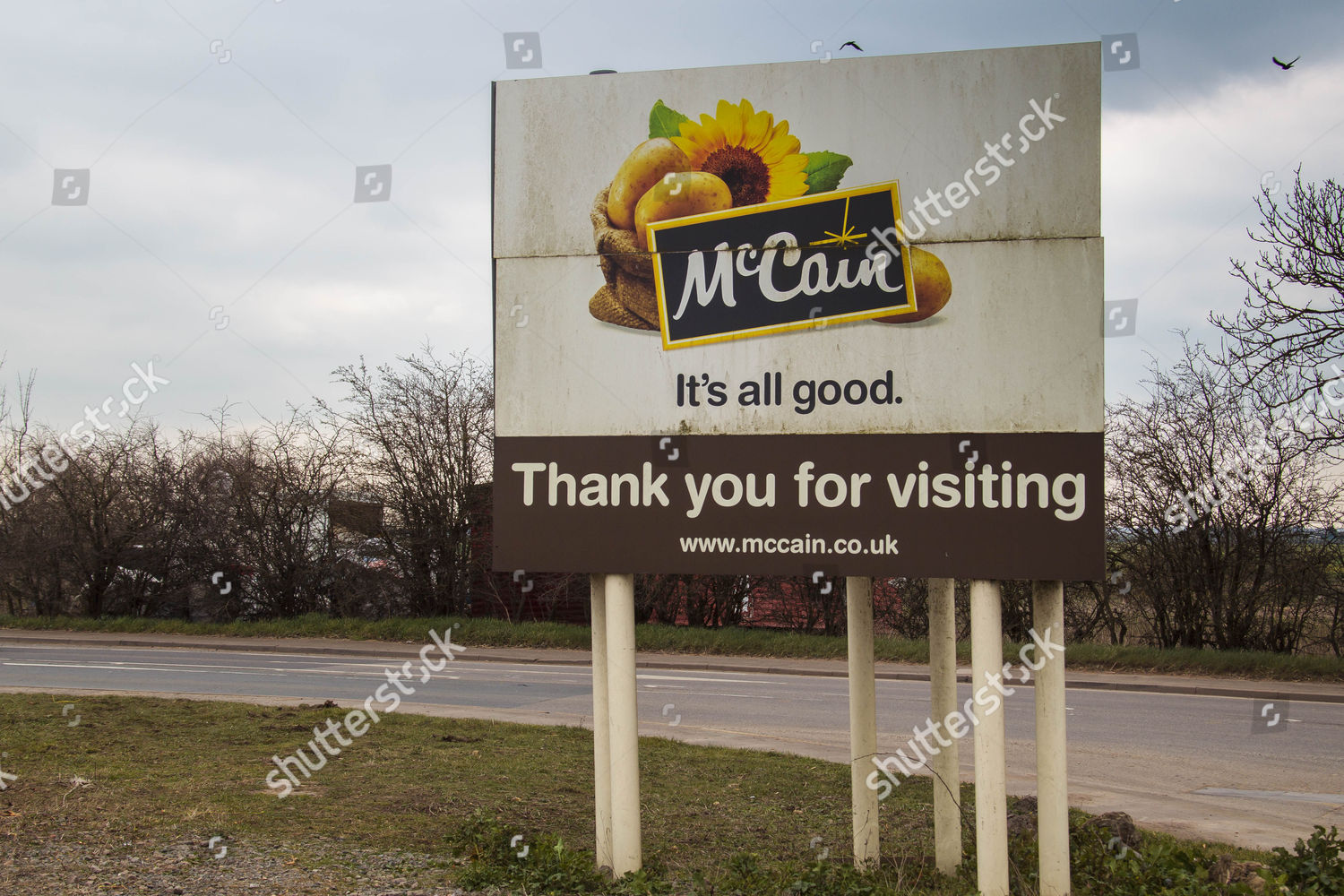 McCain Foods Ltd factory Whittlesey Editorial Stock Photo
