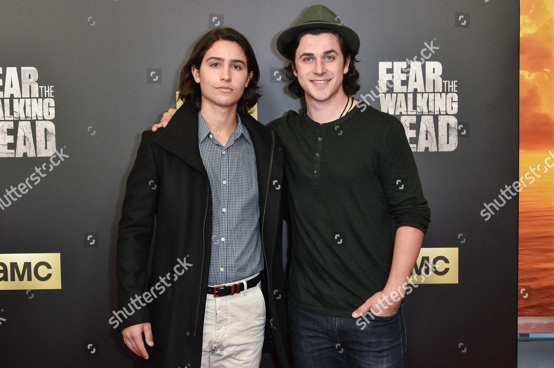 Fear The Walking Dead Bs >> Lorenzo James Henrie David Henrie Editorial Stock Photo