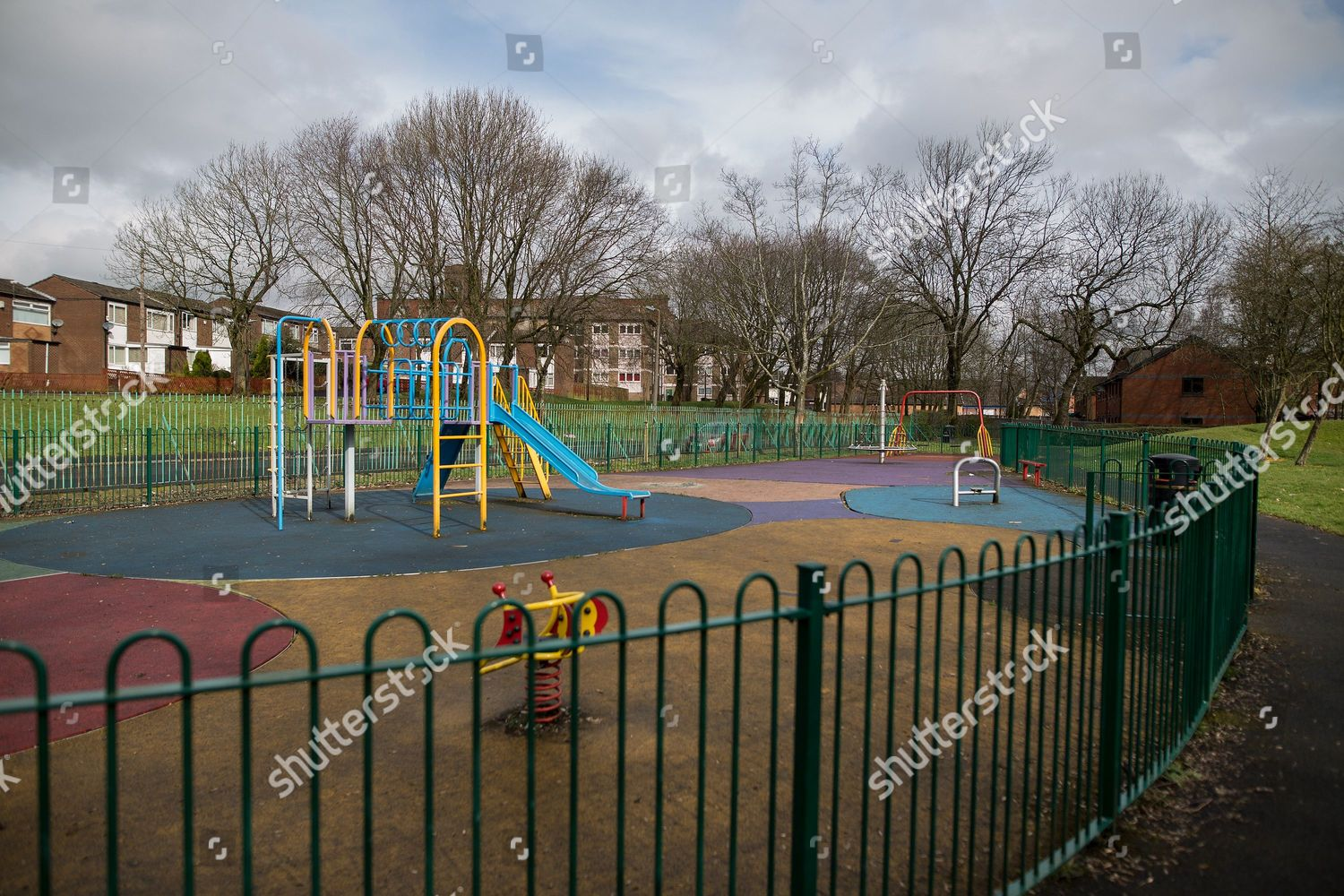 In Britains Playgrounds Bringing In >> Scene Thomasson Park Playground Halliwell Area Bolton