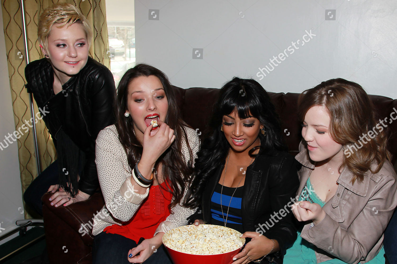 Stock photo of 'Degrassi' episode screening party, New York, America - 18 Feb 2012