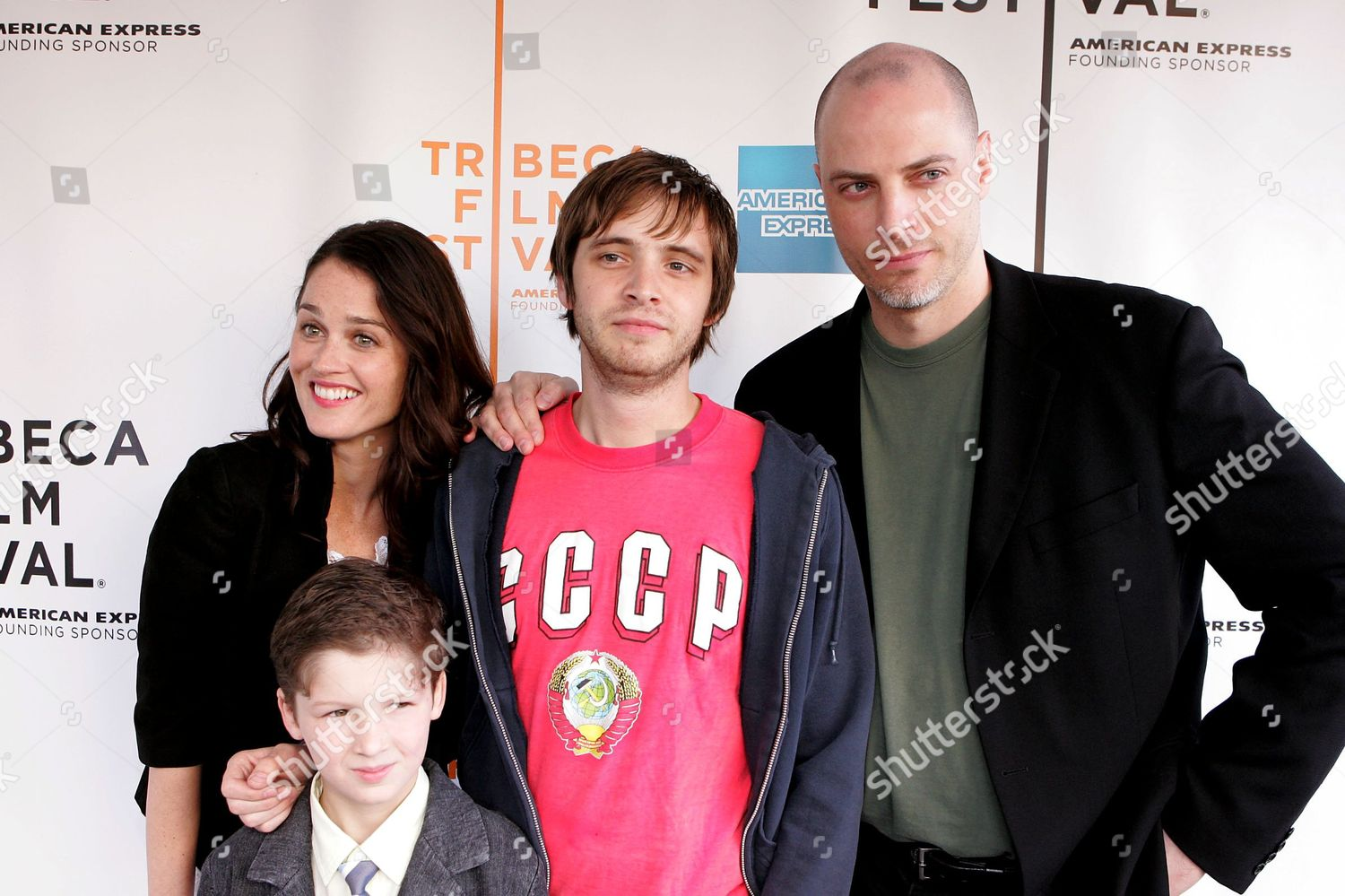 Editorial Stock Photo Of Robin Tunney Zach Savage Aaron Stanford Tim 5629083e