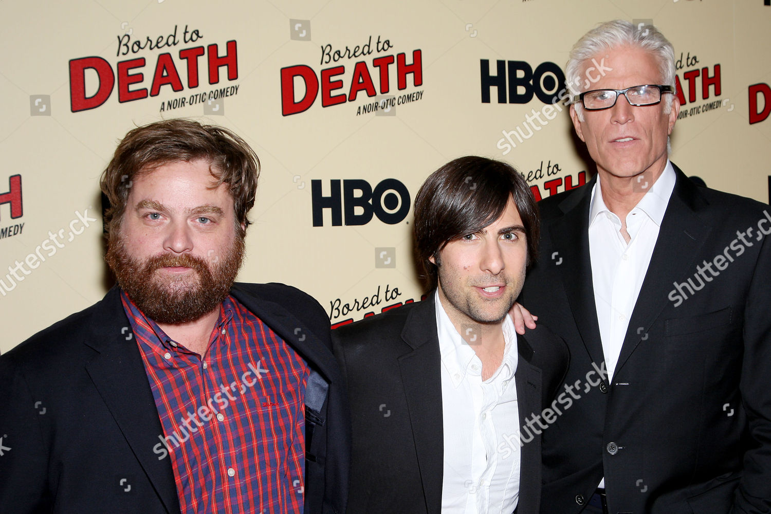 Zach Galifianakis Jason Schwartzman Ted Danson Editorial Stock Photo Stock Image Shutterstock