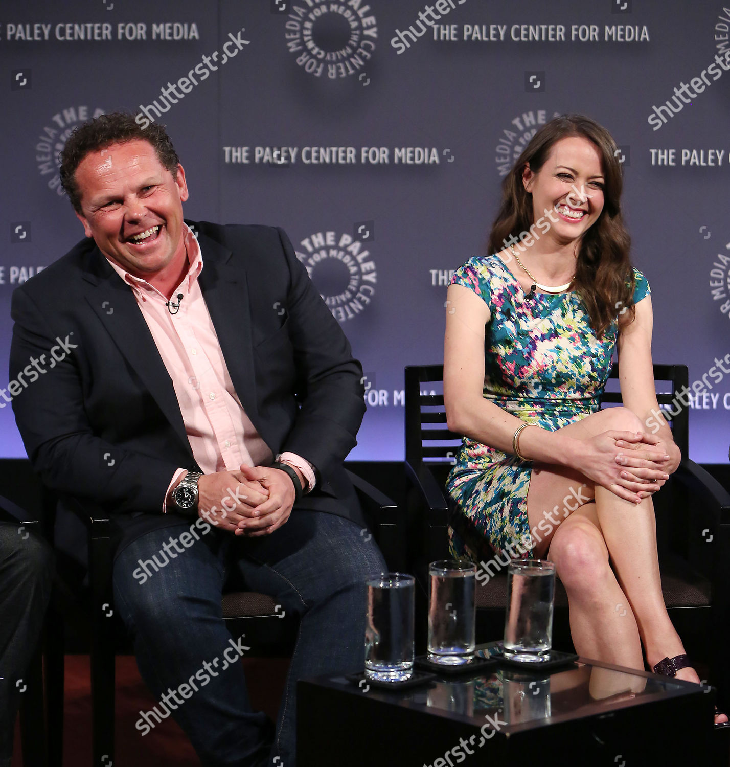 Kevin Chapman Amy Acker Editorial Stock Photo - Stock Image