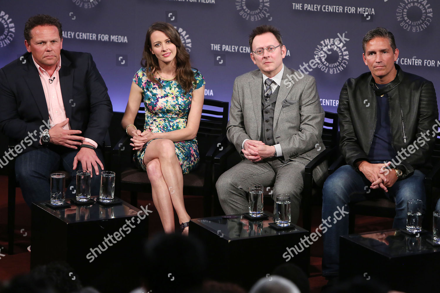 Kevin Chapman Amy Acker Michael Emerson Jim Editorial Stock Photo