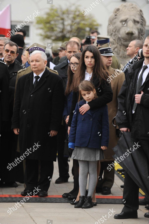 Stock photo of Smolensk plane crash 6th anniversary, Warsaw, Poland - 10 Apr 2016