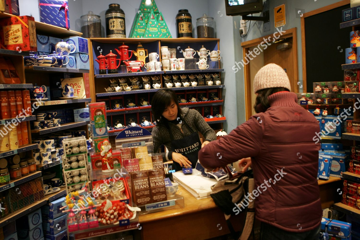 Whittard Tea Coffee Shop Piccadilly London Editorial Stock