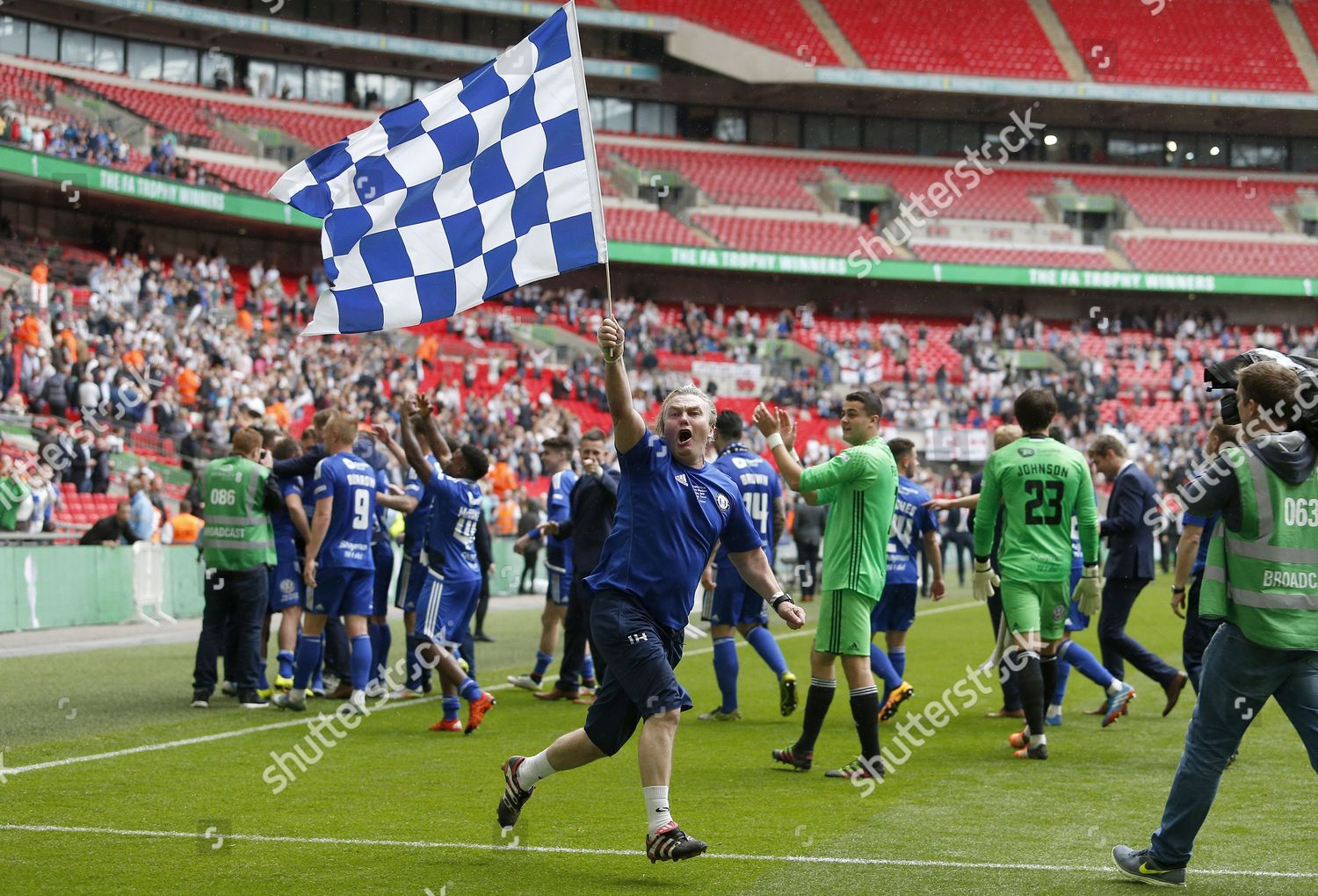 Halifax Towns Ian Helliwell celebrates final whistle Editorial Stock Photo  - Stock Image   Shutterstock