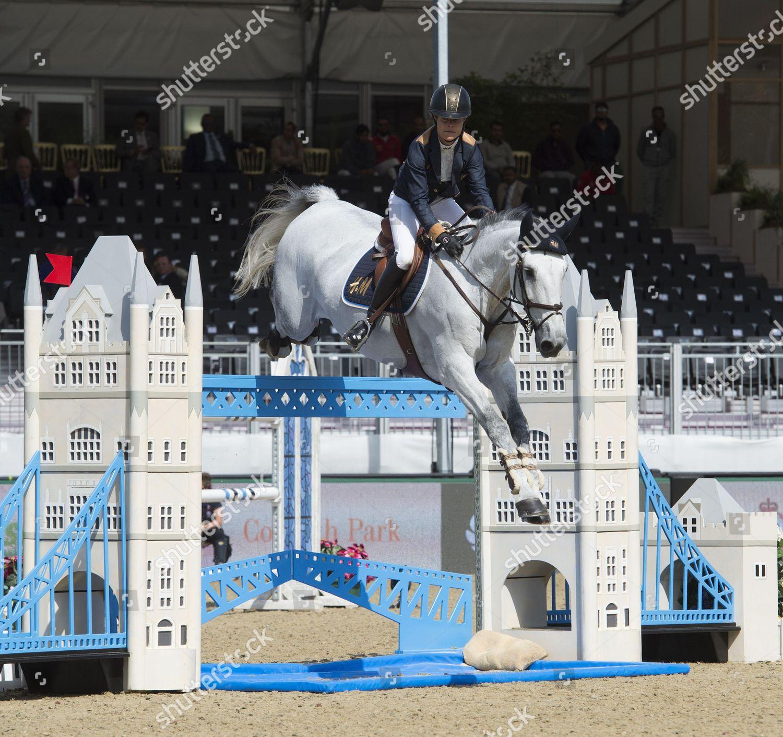 Stock photo of Royal Windsor Horse show, Berkshire, Britain - 15 May 2016