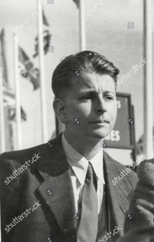 Karl Ernst Heinkel Son German Aircraft Designer Editorial