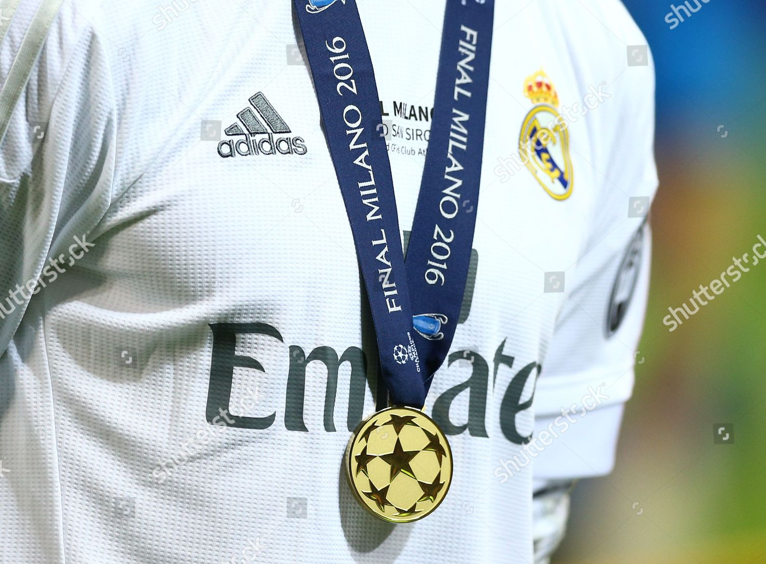 big sale 642c7 42c20 winners medal Cristiano Ronaldo Real Madrid during Editorial ...