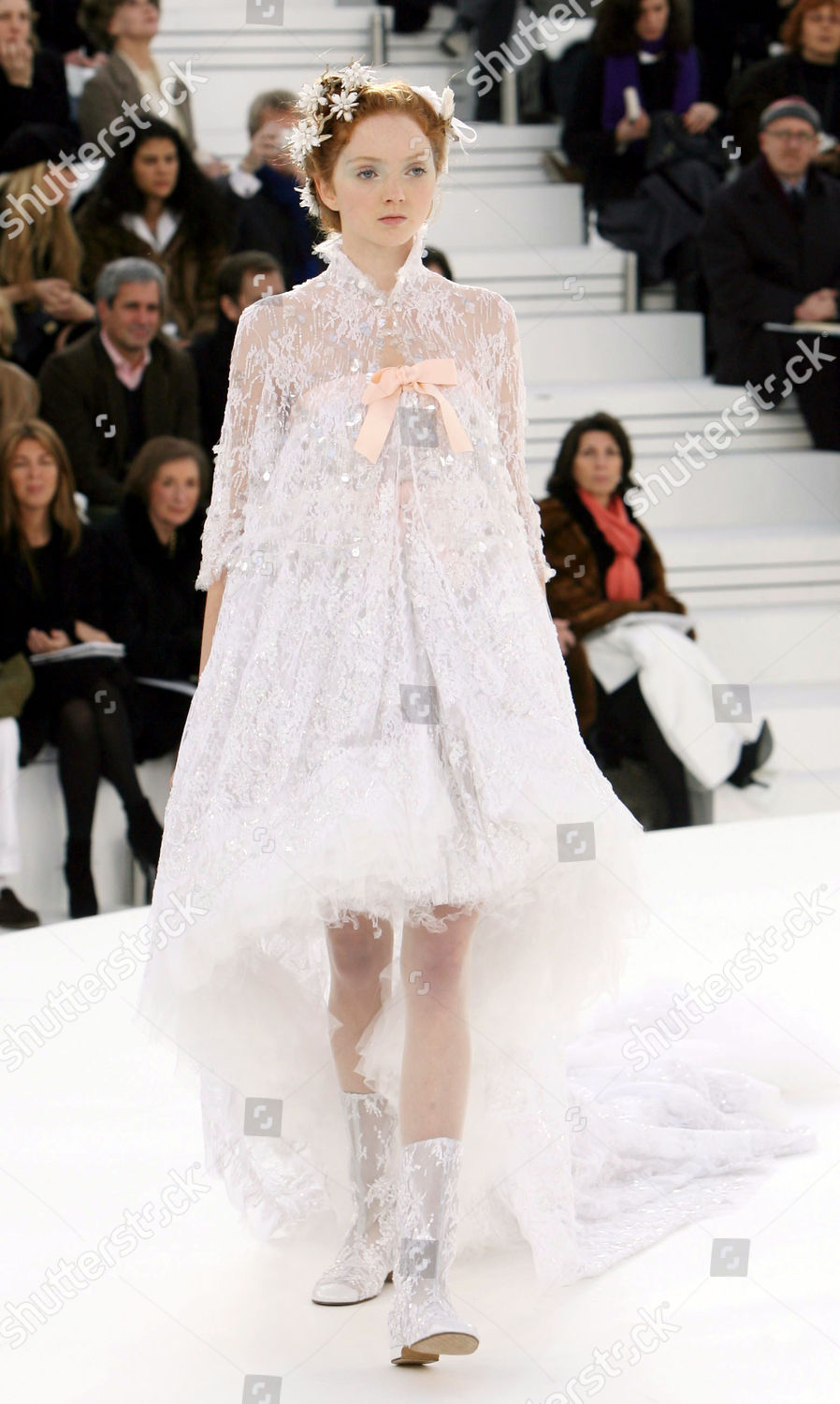 Lily Cole on catwalk Editorial Stock Photo   Stock Image ...