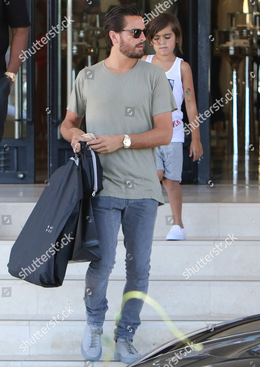 Stock photo of Scott Disick out and about, Los Angeles, USA - 20 Jun 2016
